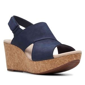 Clark's Wedge Sandals